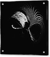 Alien Mask Acrylic Print