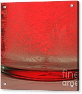 Alka-seltzer Dissolving In Water Acrylic Print by Photo Researchers, Inc.