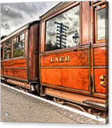 All Aboard Acrylic Print by Adrian Evans