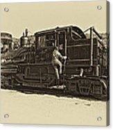 All Aboard Antique Acrylic Print