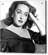 All About Eve, Bette Davis, 1950 Acrylic Print by Everett