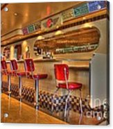 All American Diner 2 Acrylic Print