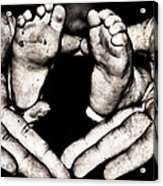 All Fingers And Toes  Acrylic Print