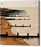 All Hallows Beach Acrylic Print