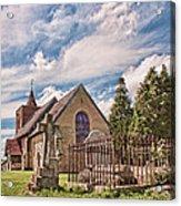 All Saints Tudeley Acrylic Print