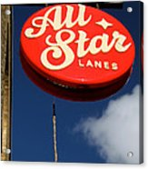All Star Acrylic Print by Jez C Self
