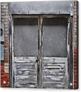 Alley Doors Acrylic Print