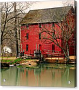Alley Mill 4 Acrylic Print