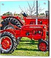 Allis-chalmers Tractors Acrylic Print