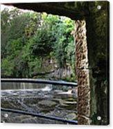 Almond River Step-door  Acrylic Print