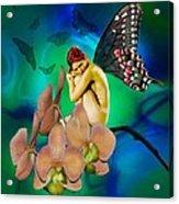 Alone I Wait Acrylic Print by Diana Shively