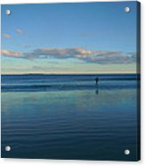 Alone With The Sea Acrylic Print
