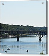 Along The Schuylkill River At Strawberry Mansion Acrylic Print
