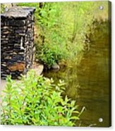 Along The Shallow Water Acrylic Print