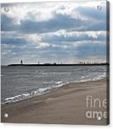 Along The Shore Acrylic Print by Dan Holm