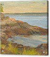 Along The Sound Shore Acrylic Print