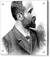 Alphonse Bertillon, French Police Officer Acrylic Print by