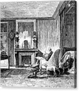 Alphonse De Lamartine Acrylic Print