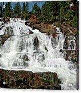 Alpine Falls Glen Alpine Falls Lake Tahoe Acrylic Print