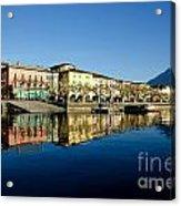 Alpine Village Acrylic Print