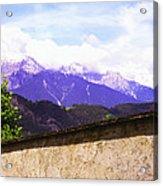 Alpine Wall Acrylic Print