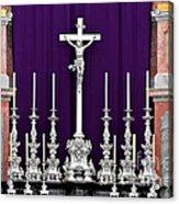 Altar Dresdener Hofkirche Acrylic Print