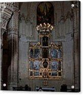 Altar Shadowed And Shining Acrylic Print