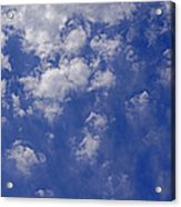 Alto Cumulus With Ice Acrylic Print
