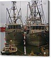 Aluminum Fishing Boats Acrylic Print