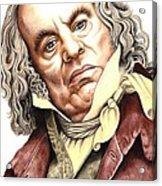 Alun Armstrong Plays Jeremiah Flintwich Acrylic Print