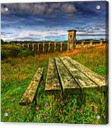 Alwen Reservoir Acrylic Print