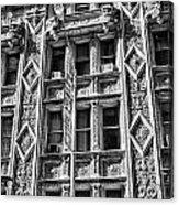 Alwyn Court Building Detail 15 Acrylic Print