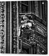 Alwyn Court Building Detail 22 Acrylic Print