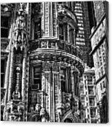 Alwyn Court Building Detail 25 Acrylic Print