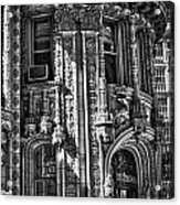 Alwyn Court Building Detail 27 Acrylic Print