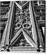 Alwyn Court Building Detail 6 Acrylic Print