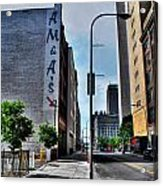 Am And As Downtown Buffalo Acrylic Print