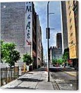 Am And As Downtown Buffalo Vert Acrylic Print