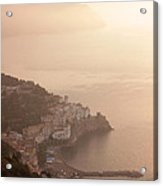 Amalfi At Sunrise Acrylic Print by Chris Hill