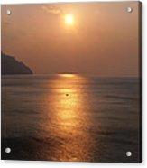 Amalfi Sunset Acrylic Print