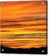 Amazing Sunset Over Obx Acrylic Print