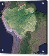Amazon River Sources Acrylic Print