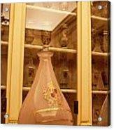 Amber Pharmacy Bottle Acrylic Print