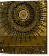 Amber Wheel I Acrylic Print by Ricki Mountain