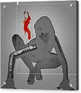 Ambush Acrylic Print by Naxart Studio