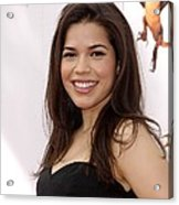 America Ferrera At Arrivals For How To Acrylic Print