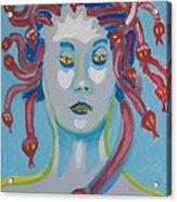 Americaine Medusa Acrylic Print by Jay Manne-Crusoe