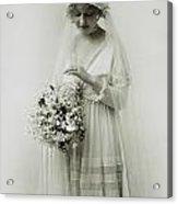American Bride, C1925 Acrylic Print