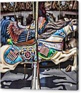 American Carousel Horse Acrylic Print