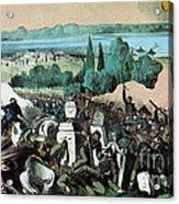 American Civil War, Battle Of Baton Acrylic Print
